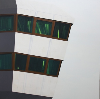 Tower 2012 Acryl/Nessel 150cm x 150cm