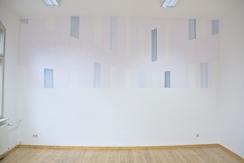BND Fassade, 2014, Öl/Papier ca. 190cm x 520cm,