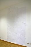 Fragmentierung, 2014, Papier ca. 300cm x 180cm