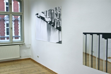 Tarlabasi, 2013, Öl/Weißblech 60cm x 90cm