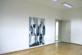 Kaufhof Alex, 2011, Öl/Nessel, 210cm x 150cm