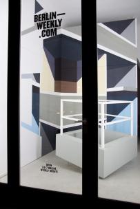 unähnliche Ähnlichkeit, 2012 Acryl/Nessel ca. 4m x 5m Skulptur Wolfgang Schlegel