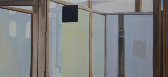 S-zone 2012 Acryl/Nessel 70cm x 150cm