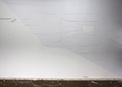 Gang 2013 Papier ca.250cm x 400cm