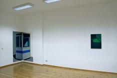 Sicherheitsbox, 2012, Acryl/Nessel 200cm x 180cm (2-teilig) Sonderfahrzeug, 2013, Öl/Acryl/Nessel 70cm x 50cm