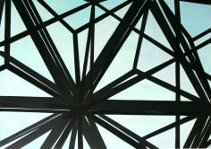 Tegel Dreieck 2012 Acryl/Nessel 70cm x 100cm