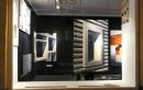 Fenster (silber), 2011 Acryl/Nessel, 150cm x 100cm