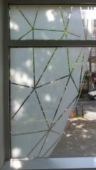 Radar, Glas/ Acryl ca. 250cm x 150cm 2014