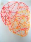 Gesichtserkennung 1 2014 Acryl/ Transparentp DinA4
