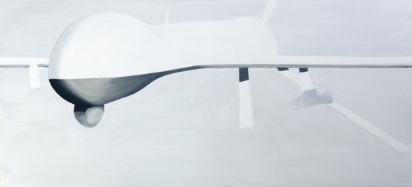 Predator 2013 Acryl/Nessel 70cm x 150cm