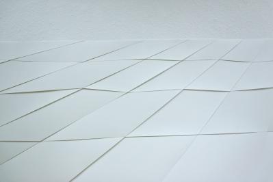 Detail 2 Raster zentriert, 2014, Papier ca. 150cm x 340cm