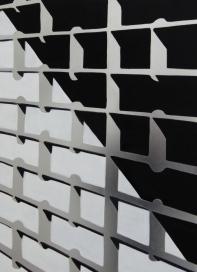 Gitter Öl/ Weißblech 74cm x 56cm 2013