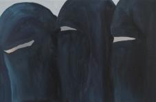 Niqab 2014 Öl/ Aludibond 20cm x 30cm