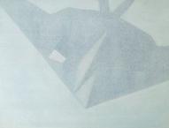 Nighthawk 2013 Öl:Nessel 30cm x 40cm