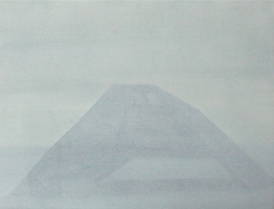 Tarnkappe frontal 2013 Öl:Nessel 30cm x 40cm