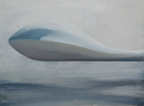in the air 2013 Öl/Nessel 30cm x 40cm
