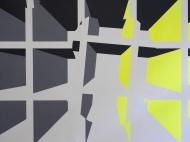 Detail Grauzone Wandmalerei 2016 Acryl/Wand ca 3m x 5 m