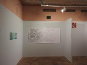 Netz 2014 Graphit/ Papier 110cm x 220cm