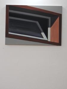 Fenster gekippt 2009 Öl/Nessel 50cm x 70cm