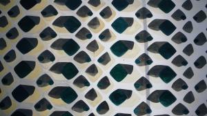 Raster 2012 Öl/Papier ca.2mx 3m